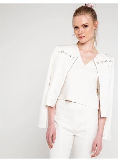 Çapraz Biye Detaylı Ceket-Love'n Fashion Paris